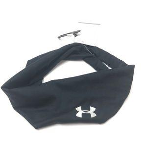 Unisex Under Armour Black Headband Wrap Game Day
